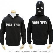 Detective Conan - Identity Unknown Criminal Full Zip Hoodie Black (M Size) (Japan)