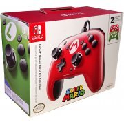 Faceoff Deluxe Wired Pro Controller for Nintendo Switch (Mario) (US)