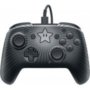 Faceoff Deluxe Wired Pro Controller for Nintendo Switch (Star Mario) (US)