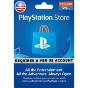 PSN Card 25 USD | Playstation Network US (US)