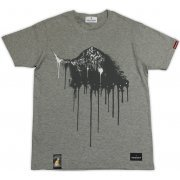 Dark Souls × Torch Torch - Gravelord Nito T-shirt Heather Gray (L Size) (Japan)