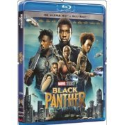 Black Panther [4K UHD + Blu-ray 2D] (2-Disc) (Hong Kong)