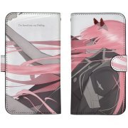 Darling In The Franxx - Zero Two Book Style Smartphone Case 148 (Japan)