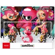 amiibo Splatoon 2 Series Figure Triple Pack (Octoling Boy / Octoling Octopus / Octoling Girl) (Japan)