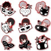 Persona 5 Trading Acrylic Magnet Hyokkori Motif Ver. (Set of 9 pieces) (Japan)