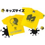 Splatoon 2 - Wakaba Octopus Kids T-shirt Yellow (130cm Size) (Japan)