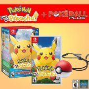 Pokemon: Let's Go Pikachu + Poke Ball Plus Pack (US)
