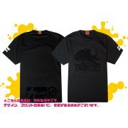 Splatoon 2 - Enter The Octobot King T-shirt Black (M Size) (Japan)