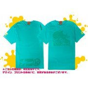 Splatoon 2 - Enter The Octobot King T-shirt Mint Green (L Size) (Japan)