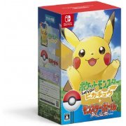 Pocket Monsters Let's Go! Pikachu + Monster Ball Plus Pack (Japan)
