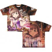 The Idolm@ster Cinderella Girls - Illusionista! Mayu Sakuma Double-sided Full Graphic T-shirt (L Size) (Japan)