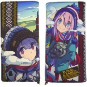 Yurucamp - Rin & Nadeshiko Full Color Wallet (Japan)