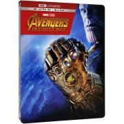 Avengers: Infinity War (4K UHD+Blu-ray 2D) (2-Disc) (Steelbook) (Hong Kong)