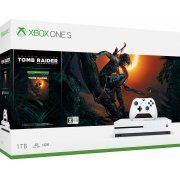 Xbox One S 1TB (Shadow of the Tomb Raider Bundle) (Japan)