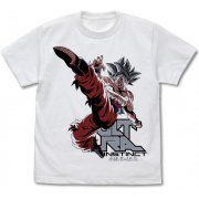 Dragon Ball Super - Ultra Instinct Goku T-shirt White (S Size) (Japan)