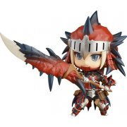 Nendoroid No. 993-DX Monster Hunter World: Hunter Female Rathalos Armor Edition - DX Ver. (Japan)