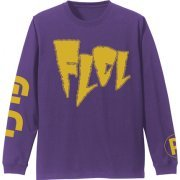 FLCL Sleeve Rib Long Sleeve T-shirt Purple (XL Size) (Japan)
