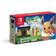 Nintendo Switch Pikachu & Eevee Edition with  Pocket Monsters Let's Go! Eevee + Monster Ball Plus [Limited Edition] (Japan)