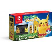 Nintendo Switch Pikachu & Eevee Edition with Pocket Monsters Let's Go! Pikachu + Monster Ball Plus [Limited Edition] (Japan)