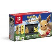 Nintendo Switch Pikachu & Eevee Edition with Pokémon: Let's Go, Eevee! + Poké Ball Plus [Limited Edition] (Europe)