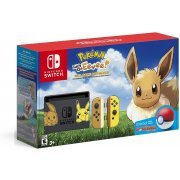 Nintendo Switch Pikachu & Eevee Edition with Pokémon: Let's Go, Eevee! + Poké Ball Plus [Limited Edition] (US)