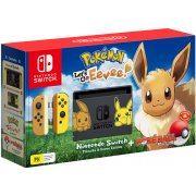Nintendo Switch Pikachu & Eevee Edition with Pokémon: Let's Go, Eevee! + Poké Ball Plus [Limited Edition] (Australia)