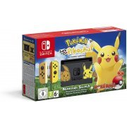 Nintendo Switch Pikachu & Eevee Edition with Pokémon: Let's Go, Pikachu! + Poké Ball Plus [Limited Edition] (Europe)