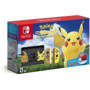Nintendo Switch Pikachu & Eevee Edition with Pokémon: Let's Go, Pikachu! + Poké Ball Plus [Limited Edition] (US)