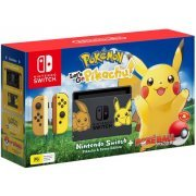 Nintendo Switch Pikachu & Eevee Edition with Pokémon: Let's Go, Pikachu! + Poké Ball Plus [Limited Edition] (Australia)