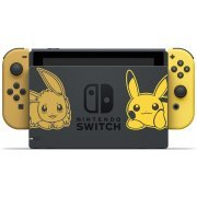 Nintendo Switch Pikachu & Eevee Edition with Pokémon: Let's Go, Pikachu! + Poké Ball Plus [Limited Edition] (Asia)