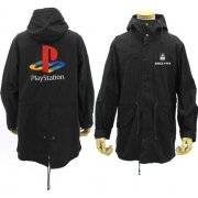 PlayStation M-51 Jacket Embroidered PSX Logo Black (M Size) (Japan)