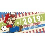 Ensky Super Mario - 2019 Desktop Calendar (Japan)