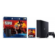 PlayStation 4 Pro Red Dead Redemption 2 Bundle (Jet Black) (US)
