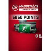 Madden NFL 19 - Ultimate Team 5850 Points  origin (Region Free)