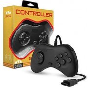 Hyperkin CirKa Controller for Sega Saturn (Black) (US)