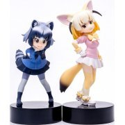 Kemono Friends PLAMAX MF-29 1/20 Scale Model Kit: My Pace Chasers / Common Raccoon & Fennec (Japan)