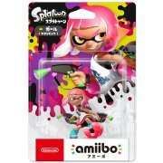 amiibo Splatoon Series Figure (Girl Neon Pink) Re-run) (Japan)