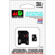 Mega Drive microSDHC card + SD Adapter Set (16 GB) (Japan)
