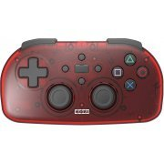 Hori Wireless Controller Light for PlayStation 4 (Clear Red) (Japan)