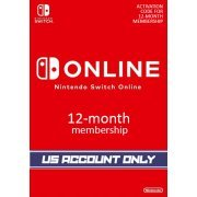 Nintendo Switch Online 12-Month Individual Membership | US Account Only (US)