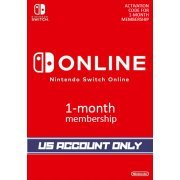 Nintendo Switch Online 1-Month Individual Membership | US Account Only  digital (US)