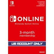 Nintendo Switch Online 3-Month Individual Membership | US Account Only (US)
