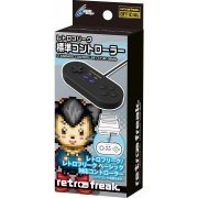 Retro Freak Standard Controller (Mega Black) (Japan)
