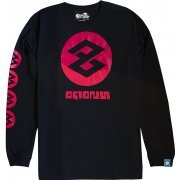 Splatoon 2 Tako Long Sleeve T-shirt Black (XL Size) (Japan)