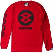 Splatoon 2 Tako Long Sleeve T-shirt Red (XS Size) (Japan)