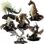 Capcom Figure Builder Monster Hunter Standard Model Plus: The Best of Vol. 7, 8 (Set of 6 pieces) (Japan)