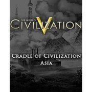 Sid Meier's Civilization V - Cradle of Civilization: Asia [DLC] (EU REGION ONLY)  steam digital (Europe)