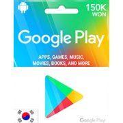 Google Play Gift Card (150000 Won) (Korea)
