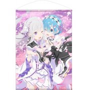 Re:Zero kara Hajimeru Isekai Seikatsu B2 Wall Scroll: Emilia & Rem (Japan)