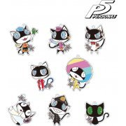 Persona 5 Trading Morgana Acrylic Keychain Costume Change Ver. (Set of 8 pieces) (Japan)